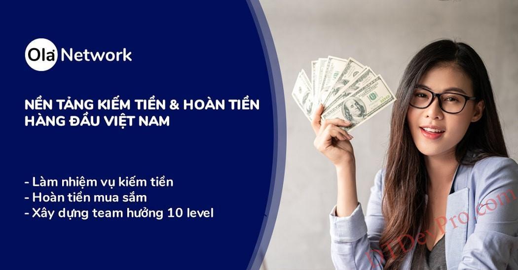 Ola City là gì? Nền tảng kiếm tiền hoàn tiền tốt nhất Việt Nam? Cách kiếm tiền ra sao?