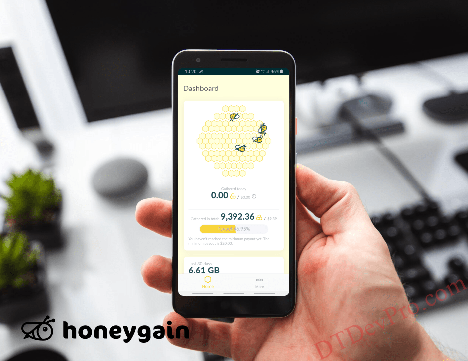 Hướng dẫn treo máy kiếm tiền tự động với HoneyGain